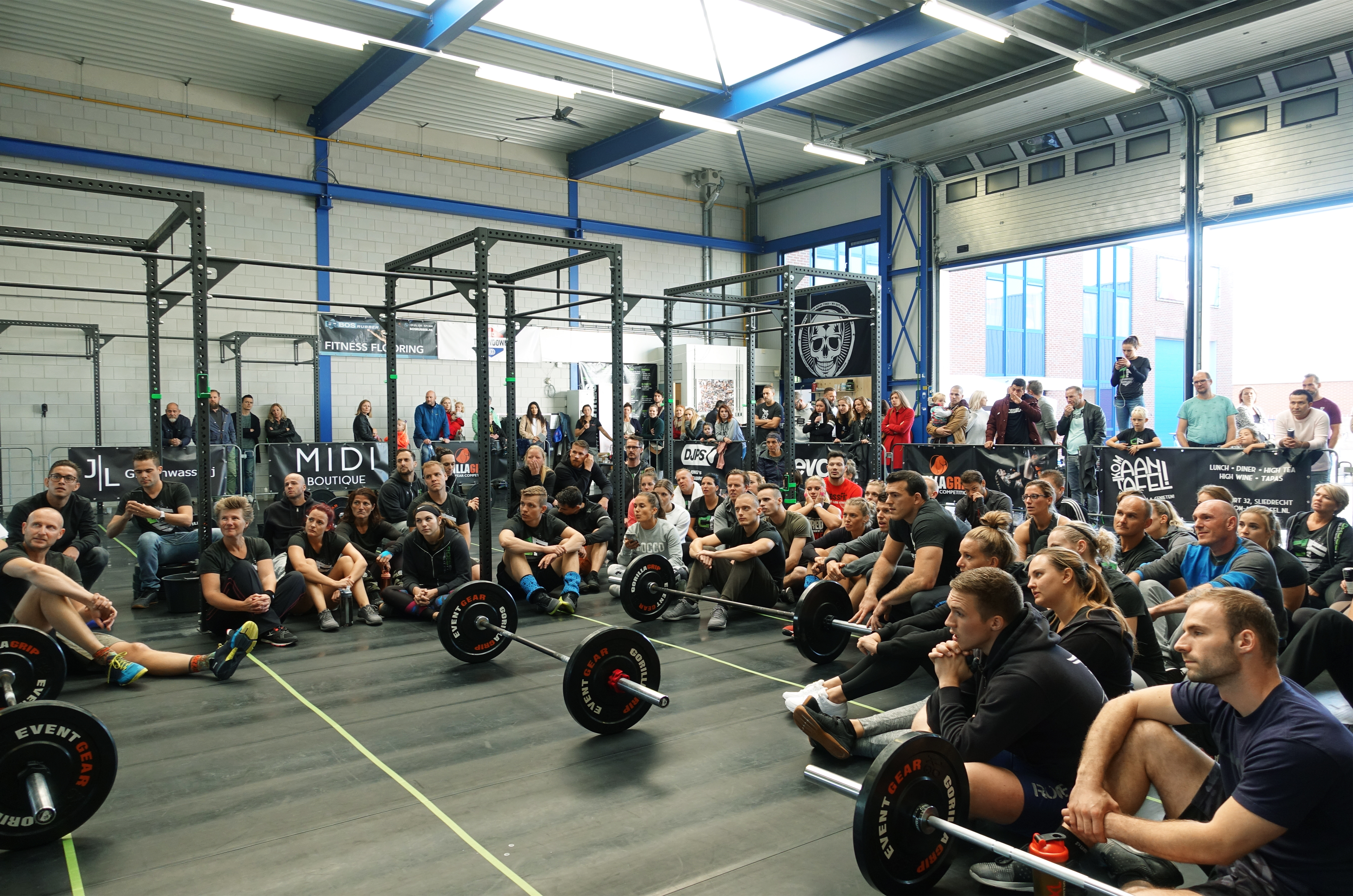 De CrossFit Sliedrecht Throwdown was een succes!