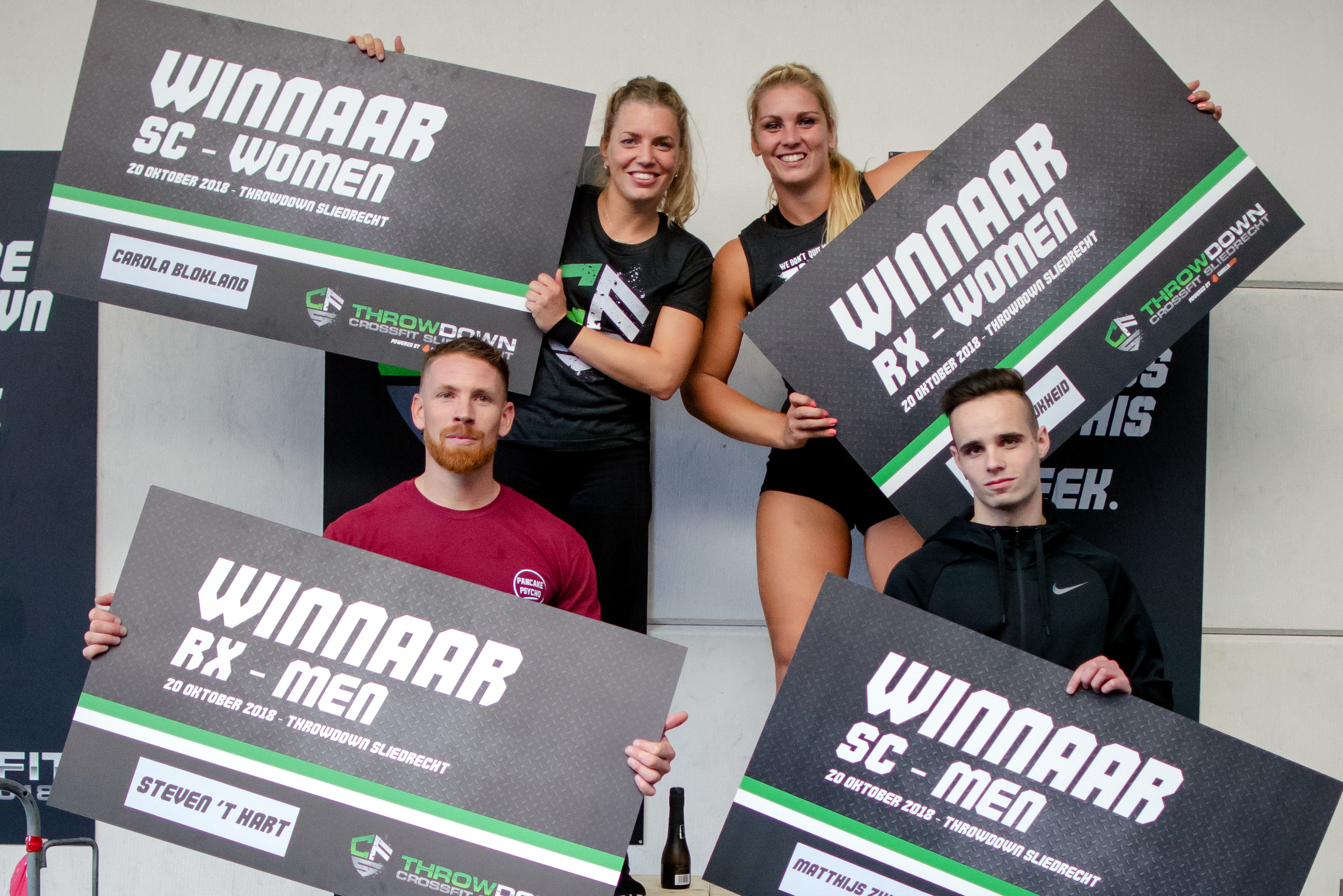 Leaderboard CrossFit Sliedrecht Throwdown